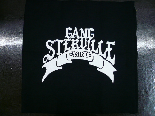 GANGSTERVILLE G.S.V. CUSHION COVER SIGNATURE