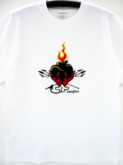 INTERFACE BLACK HEART TEE