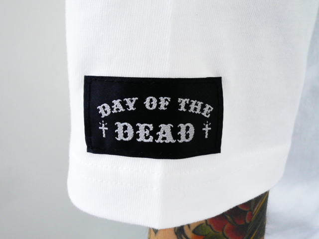 DAY OF THE DEAD JESUS PORTRAIT TEE FRONT