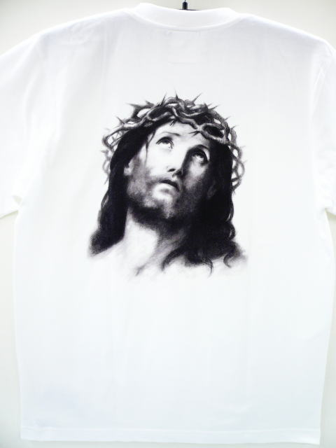 DAY OF THE DEAD JESUS PORTRAIT TEE BACK