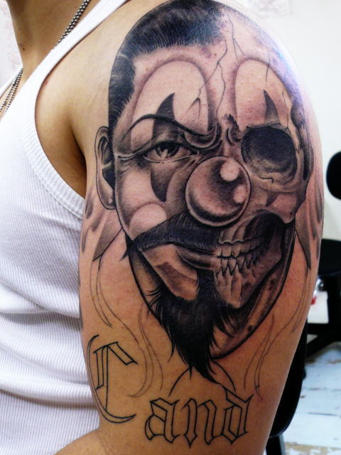 TATTOO KOBAYASHI BLACK&GRAY SKULL&CROWN DAYOFTHEDEAD