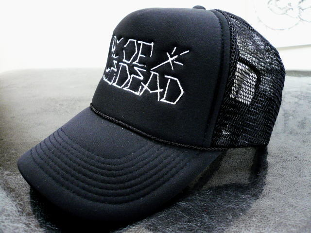 DAY OF THE DEAD CHICANO LOGO MESH CAP