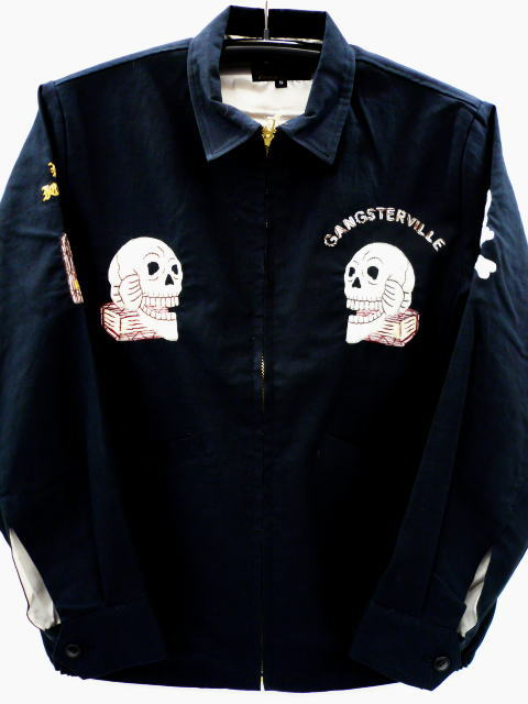 GANGSTERVILLE SURVINIR SKULL JKT