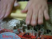 クッキー作り中のハム太