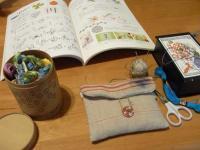 刺繍を始めましょう。