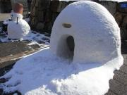 雪だるま&かまくら