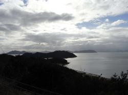 山道からの景色
