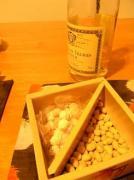 豆と白ワイン