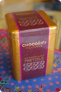 チョコ プレッツェル