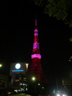 ピンクタワー③
