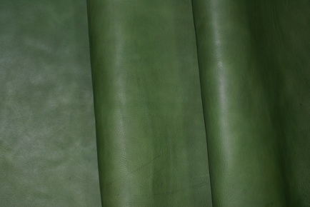 No.248 4mm厚アンティーク調グリーンの革