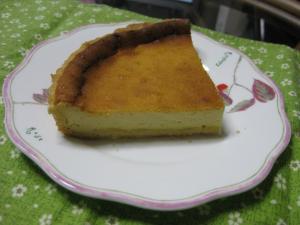 チーズケーキ縮小