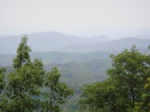 男鹿山山頂風景