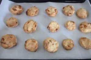 おからクッキー焼いた後