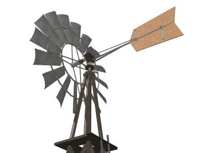 インディアン風車(多翼型風車)