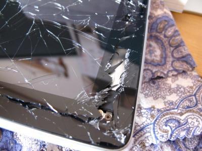 iPad落下破損2