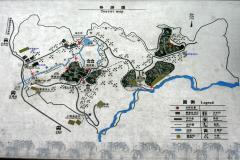 碧峰峡基地案内図(加筆)