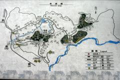 碧峰峡基地案内図