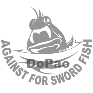 Against For Swoed Fish 勇敢なさかな オリジナルデザイン