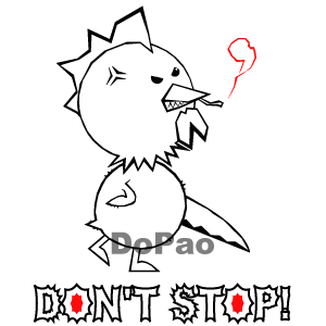 Don't Stop! 恐いチキン オリジナルデザイン