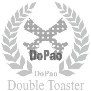 Double Toaster Grey 2丁のガン オリジナルデザイン