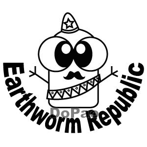 Earthworm Republic みみず共和国 オリジナルデザイン