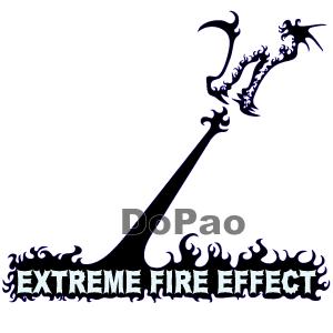 Extreme Fire Effect ドラゴン オリジナルデザイン