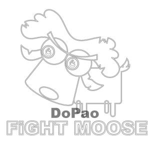 Fight Moose 戦うムース オリジナルデザイン
