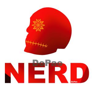 NERD ナード スカル オリジナルデザイン