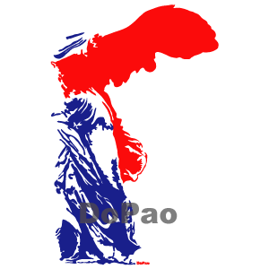 Nike France Flag サモトラのニケ、フランス国旗カラー オリジナルデザイン