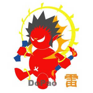 雷神、風神 カラフル オリジナルデザイン