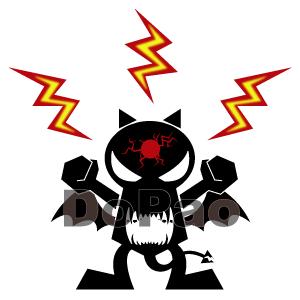 Red Thunder Evil 雷の悪魔 オリジナルデザイン