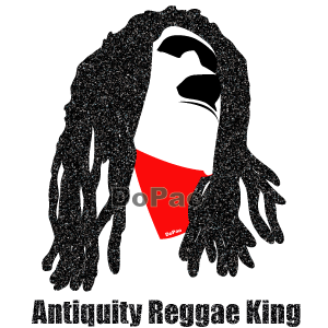 Reggae King レゲエ キング モアイ イースター島 オリジナルデザイン
