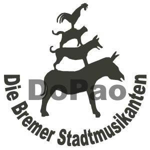 Town Musicians of Bremen ブレーメンの音楽隊 オリジナルデザイン
