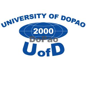 UNIVERSITY OF DOPAO DoPao大学 オリジナルデザイン