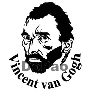 Gogh フィンセント・ファン・ゴッホ 肖像画 オリジナルデザイン
