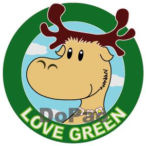 ELK Love Green 緑を愛するエルク オリジナルデザイン
