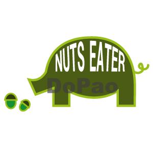 NUTS PIG イベリコ豚 オリジナルデザイン