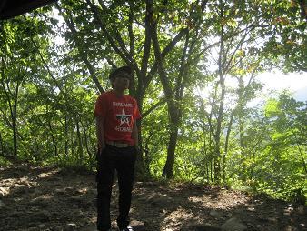 080915三角山登山