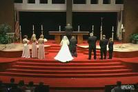 結婚式で卒倒してしまう男性