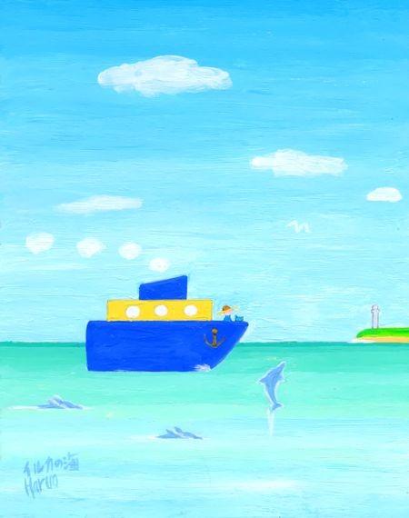 ブログ童話館アートメルヘン 「イルカの海」