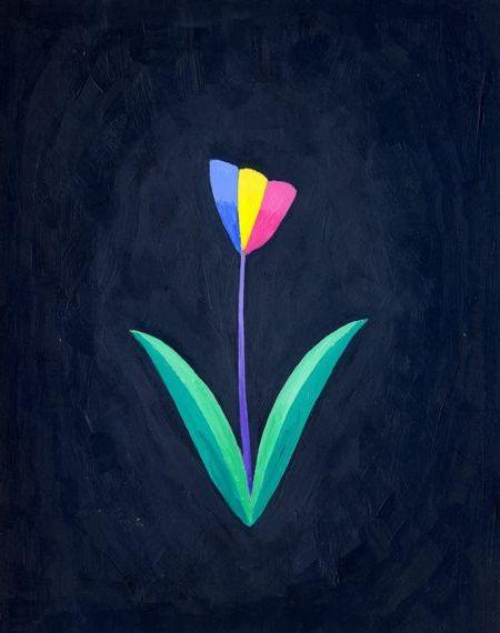 ブログ童話館アートメルヘン 「虹の花」