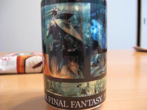 DISSIDIA FINAL FANTASY POTION CG画面集缶