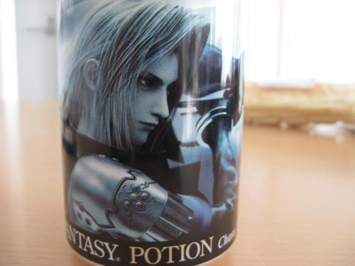 DISSIDIA FINAL FANTASY POTION セフィロス缶