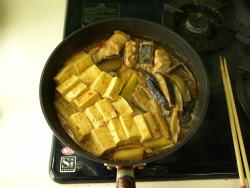 エイのピリ辛味噌煮10