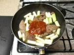 豚レバチリソース炒め10