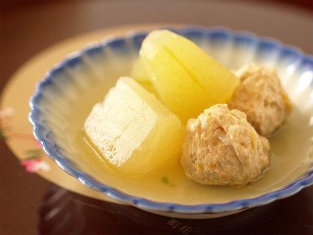 冬瓜と鶏団子の含め煮01