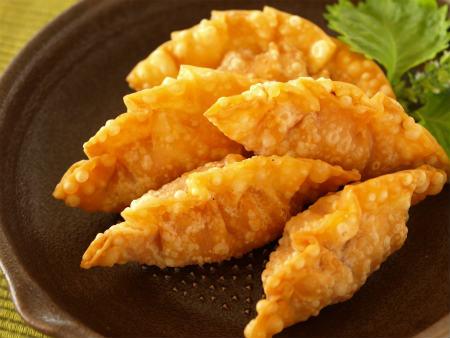 エビチリ餃子09