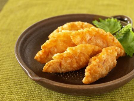 エビチリ餃子08