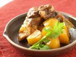豚カルビのポン酢煮12